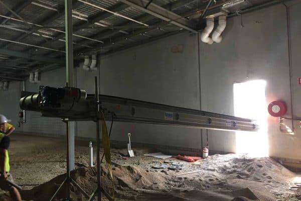 600mm Conveyor Belt Hire