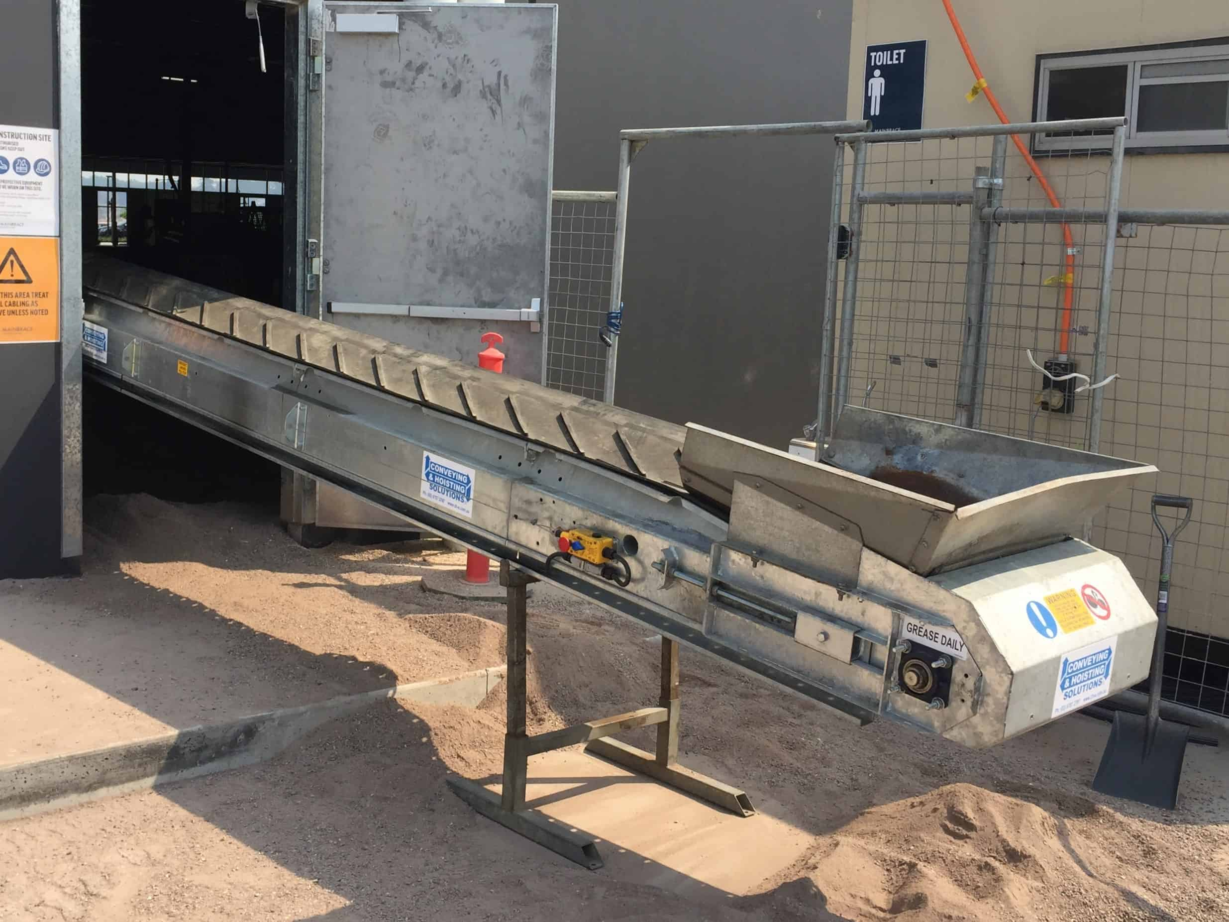 600mm Conveyor Belt Hire